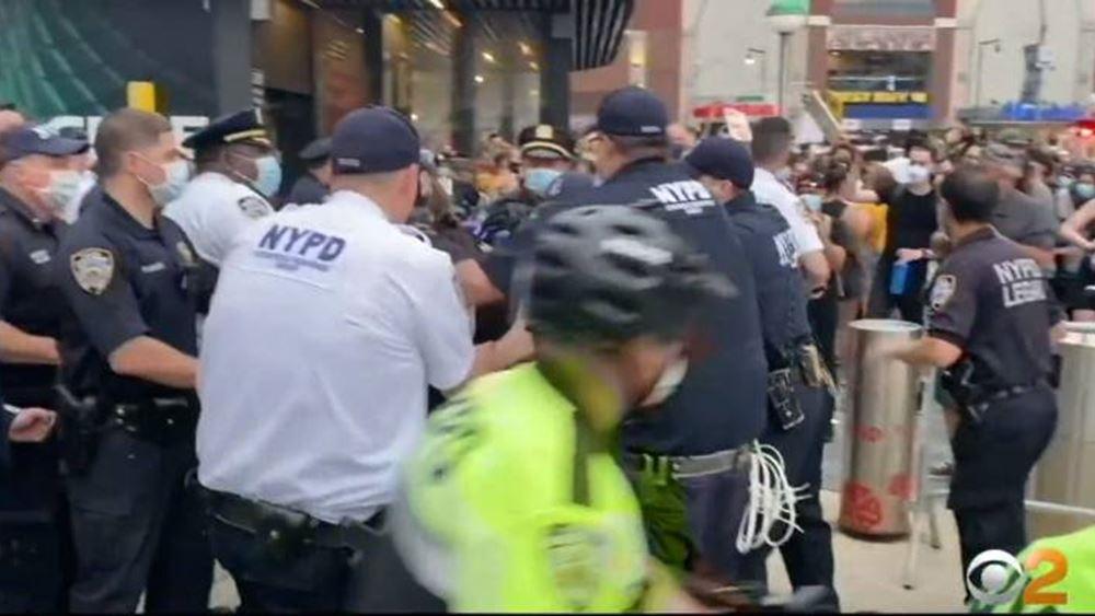 ΗΠΑ: Ο εισαγγελέας του Μανχάταν δεν θα ασκήσει διώξεις στους συλληφθέντες διαδηλωτές