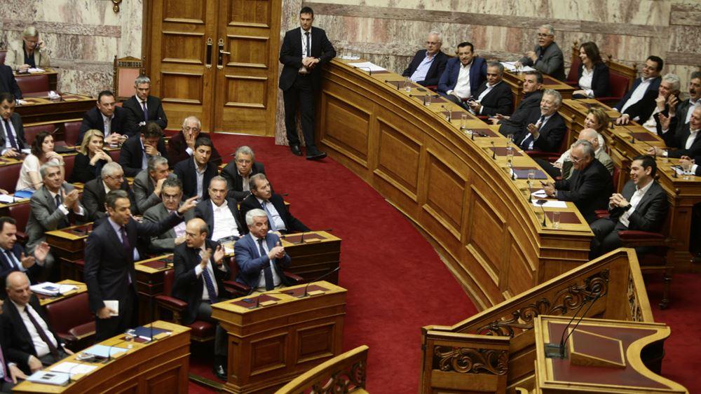 Σύγκρουση Άδωνι-Καμμένου στη Βουλή