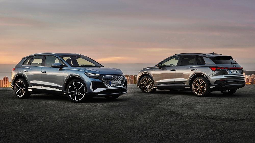Πρεμιέρα για τα ηλεκτρικά Audi Q4 e-tron και Q4 Sportback e-tron