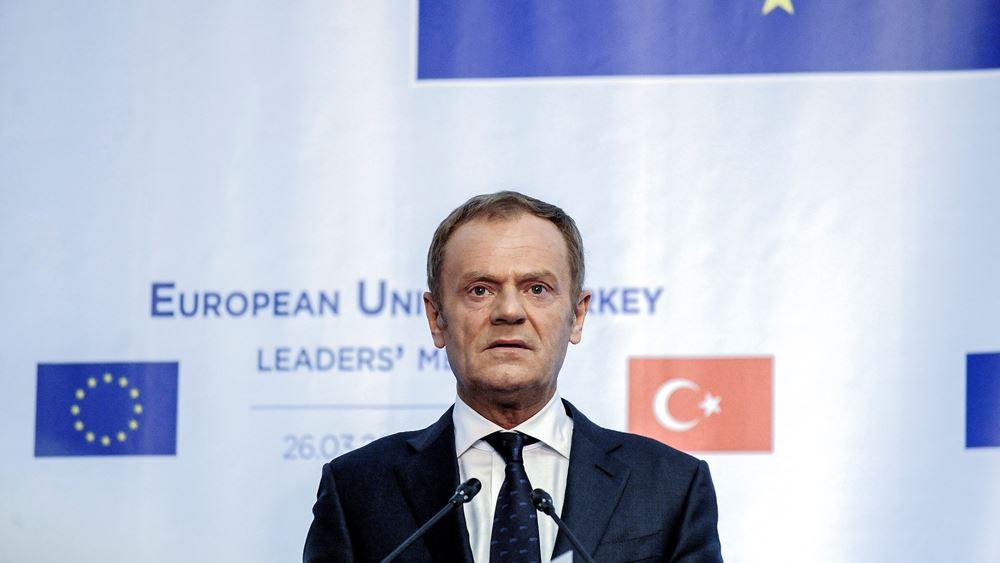Τουσκ: Xωρίς αυτοματισμό η επιλογή του επικεφαλής της Κομισιόν και των υπόλοιπων θεσμικών οργάνων