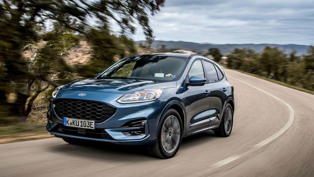 To Ford Kuga PHEV συνδυάζει τα καλύτερα δύο διαφορετικών κόσμων