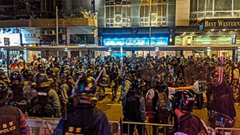 """Η πρεσβεία της Κίνας απαιτεί από την καναδική κυβέρνηση να μην """"αναμιγνύεται"""" στις υποθέσεις του Χονγκ Κονγκ"""