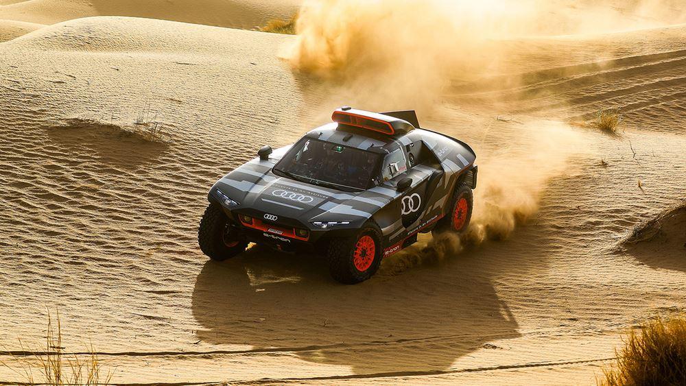 Εξαντλητικές δοκιμές του Audi RS Q e-tron στο Μαρόκο