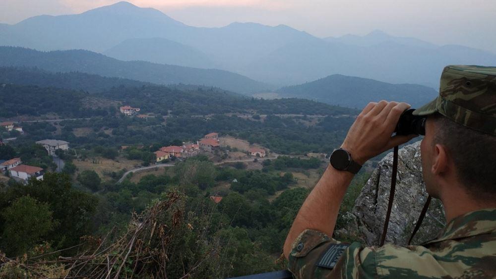 Σε δάση και επίφοβες περιοχές περιπολίες στρατού και αστυνομίας για πρόληψη πυρκαγιών