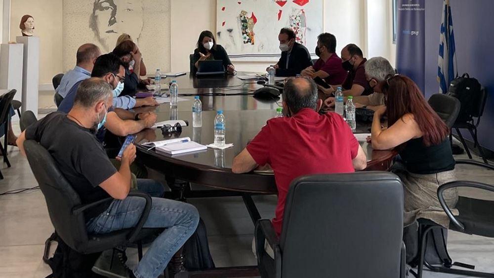 Συνάντηση Κεραμέως με τους εκπροσώπους των εκπαιδευτικών