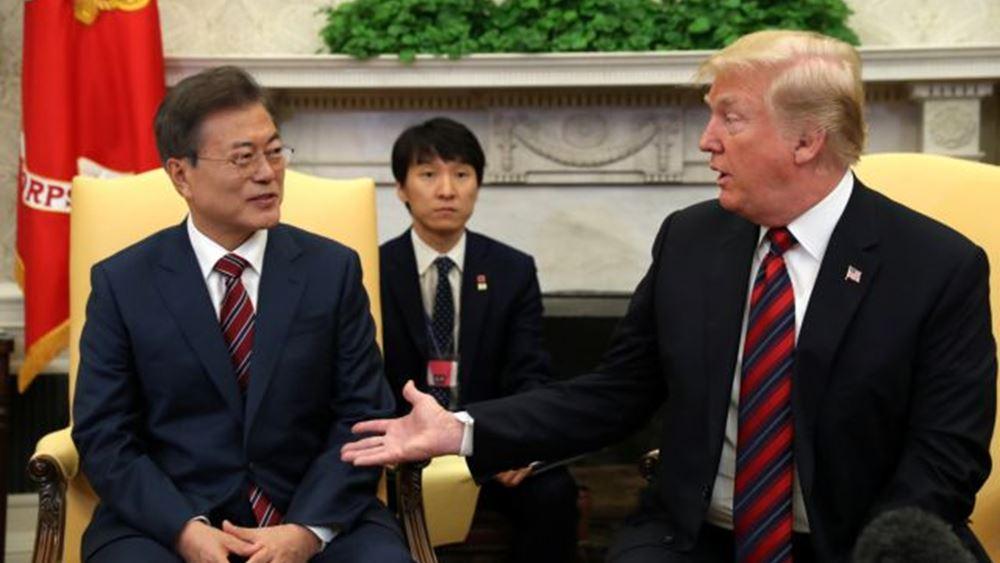 Ο Τραμπ συζήτησε το θέμα της πανδημίας με τους ηγέτες της Νότιας Κορέας και του Μεξικού