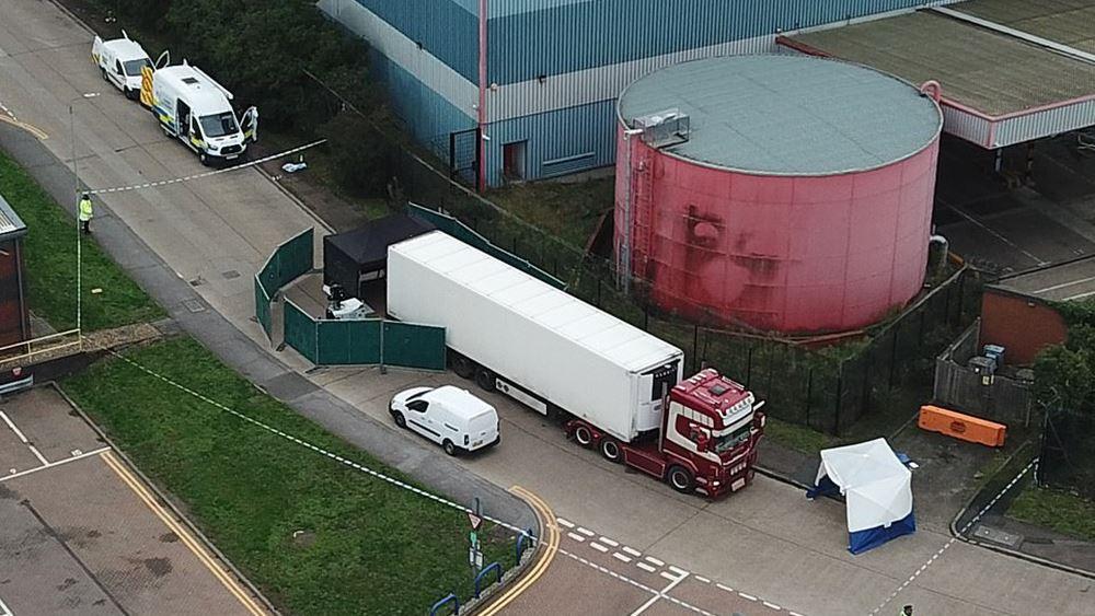 Βρετανία: Για μεγάλο διάστημα βρισκόντουσαν στο φορτηγό οι 39 Κινέζοι που βρήκαν τραγικό θάνατο