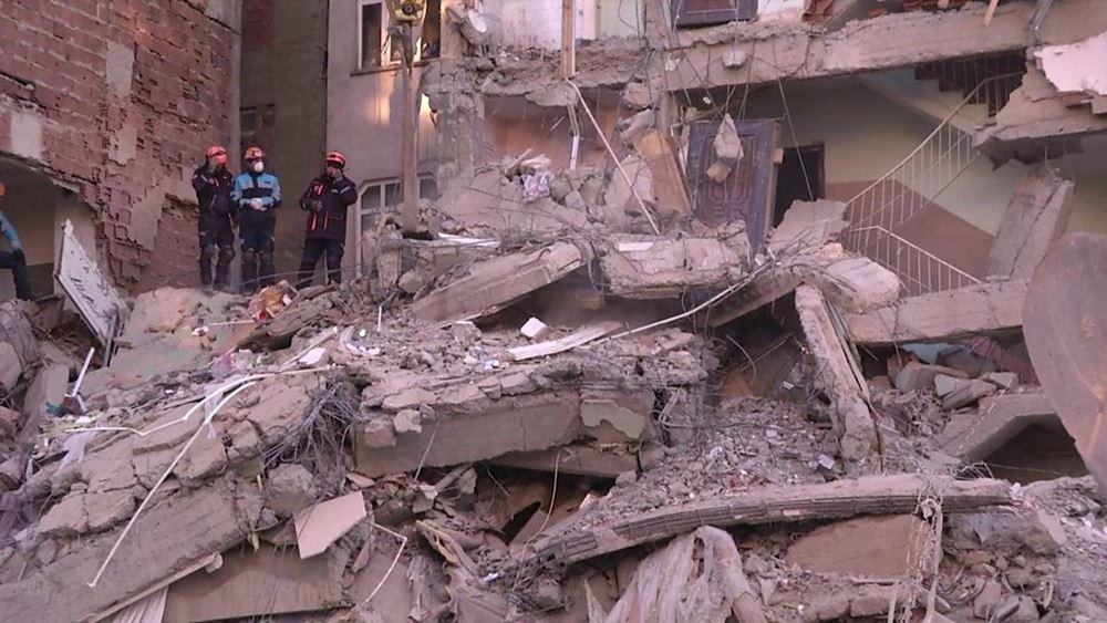 """Τουρκία: Στους 41 οι νεκροί από τον σεισμό - """"Τέλος"""" οι επιχειρήσεις διάσωσης"""