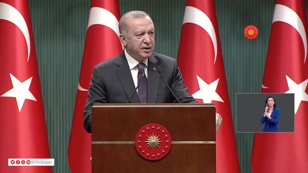 Ερντογάν: Αδύνατη η αποχώρηση του τουρκικού στρατού από την Κύπρο