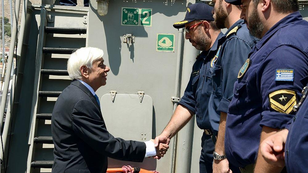 Παυλόπουλος: Βάση της καλής γειτονίας είναι η πλήρης τήρηση του Διεθνούς Δικαίου