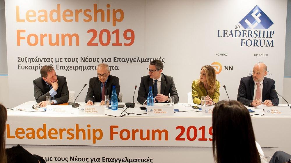 Η ΝΝ Hellas φιλοξένησε το 10ο Leadership Forum 2019 του Ελληνο-Αμερικανικού Εμπορικού Επιμελητηρίου