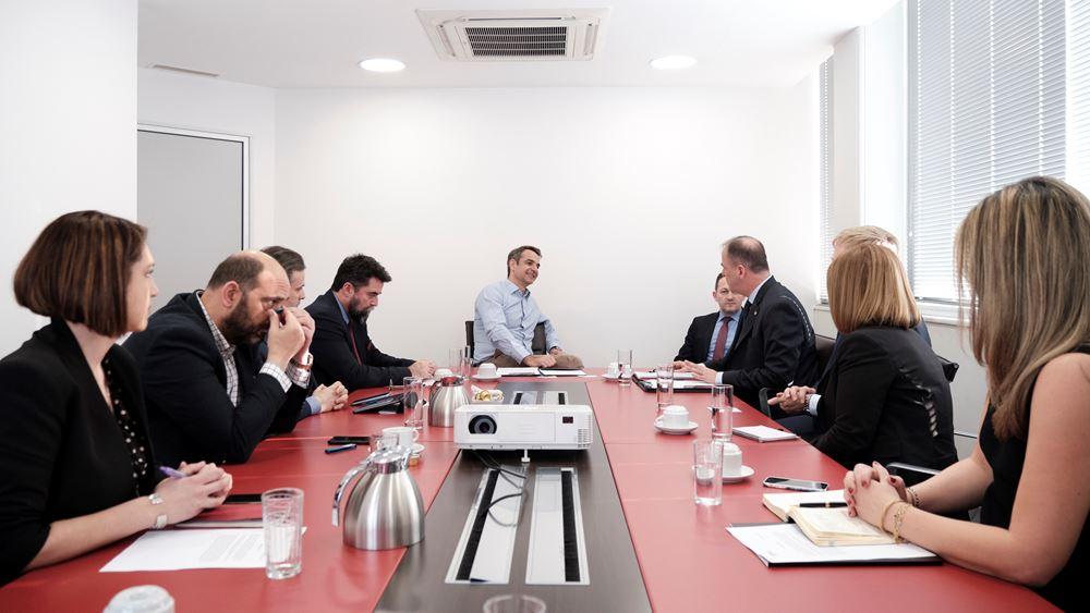 Συνάντηση ΝΔ- PIF για την προώθηση της καινοτομίας στο φάρμακο