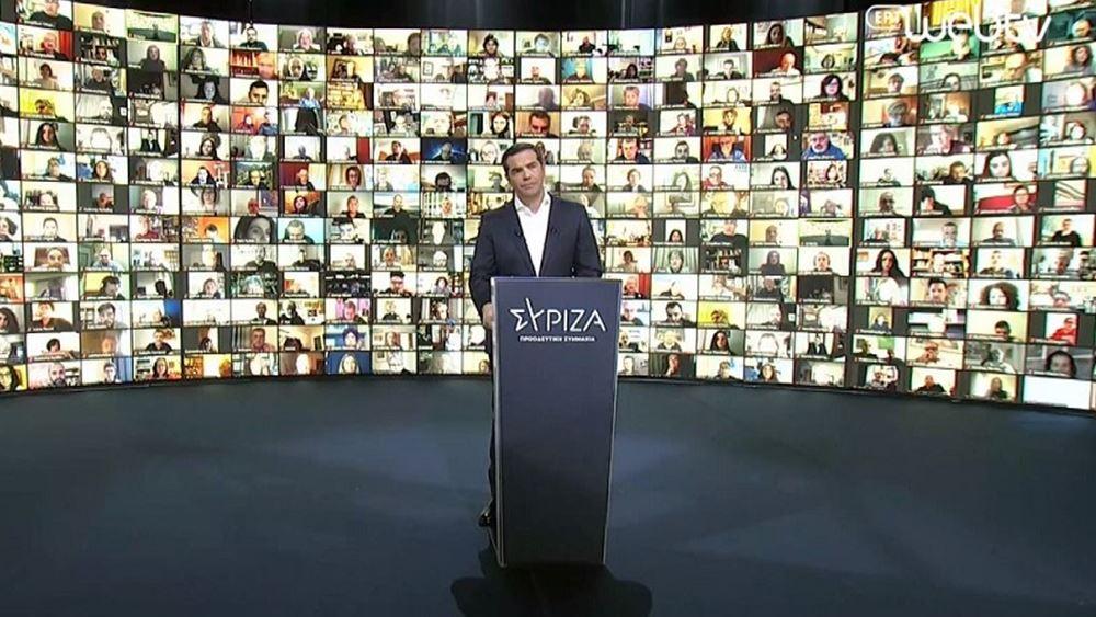 Ενίσχυση ΕΣΥ ύψους 3 δισ. στο σχέδιο ΣΥΡΙΖΑ που παρουσίασε ο Α. Τσίπρας