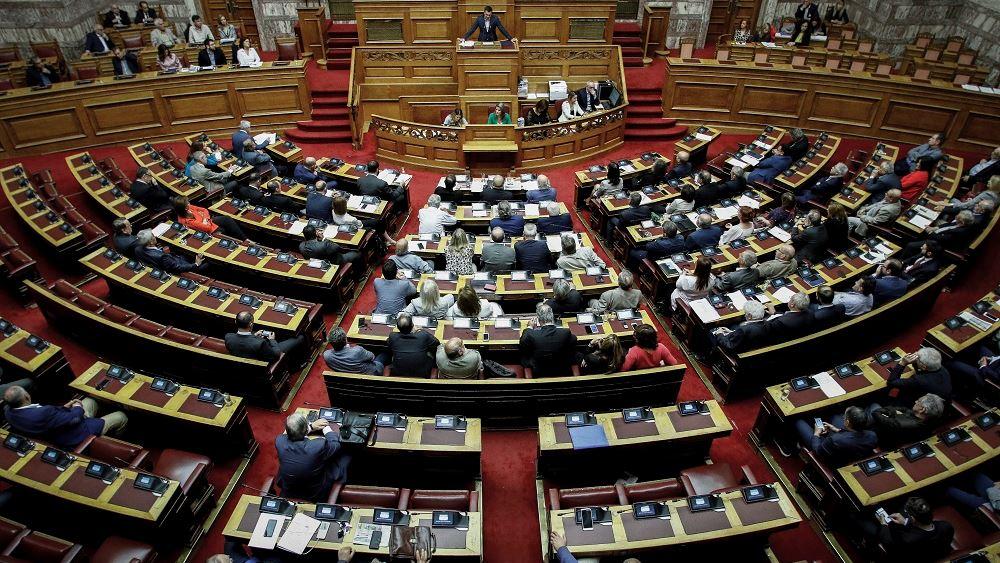 Boυλή: Επίθεση κατά του υφυπουργού Αθλητισμού εξαπέλυσε η Άννα Καραμανλή