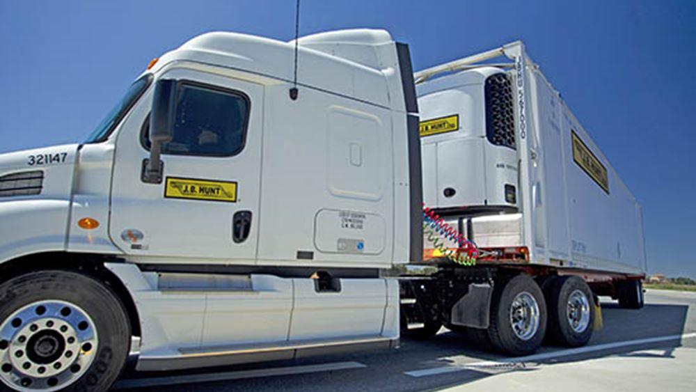 Χαμηλότερα των προσδοκιών τα κέρδη της JB Hunt Transport