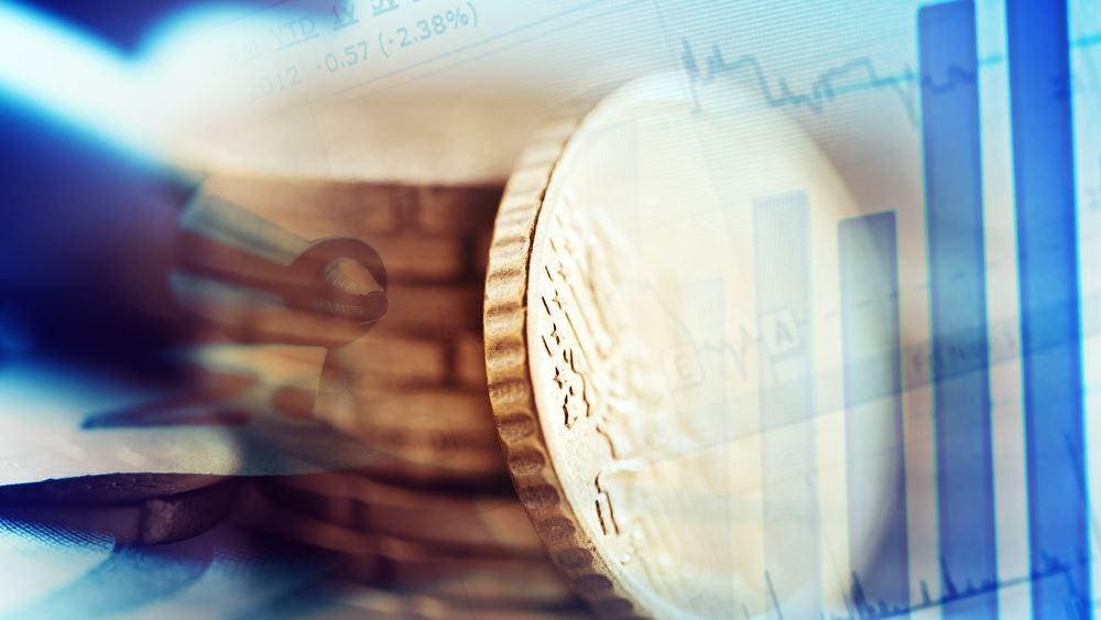 Αυξήθηκαν στα 22,8 δισ. ευρώ τα ταμειακά διαθέσιμα στα τέλη του 2019