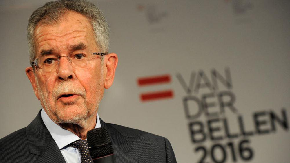 Αυστρία: Ελλάδα-Κροατία για καλοκαιρινές διακοπές προκρίνει ο πρόεδρος Α. Βαν ντερ Μπέλεν