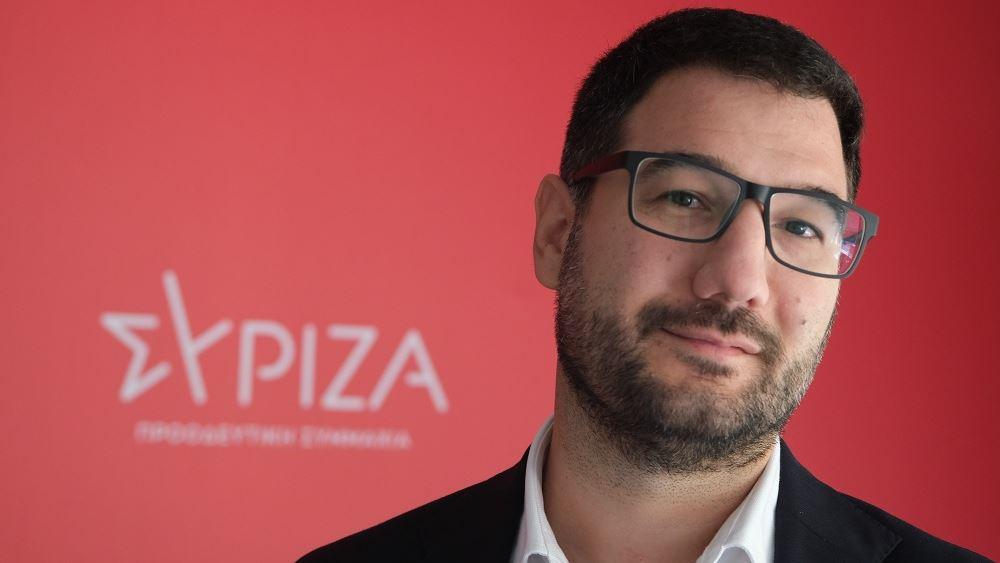 Ηλιόπουλος: Η κυβέρνηση μετά από μήνες θυμήθηκε να βάλει πλαφόν στην τιμή των τεστ