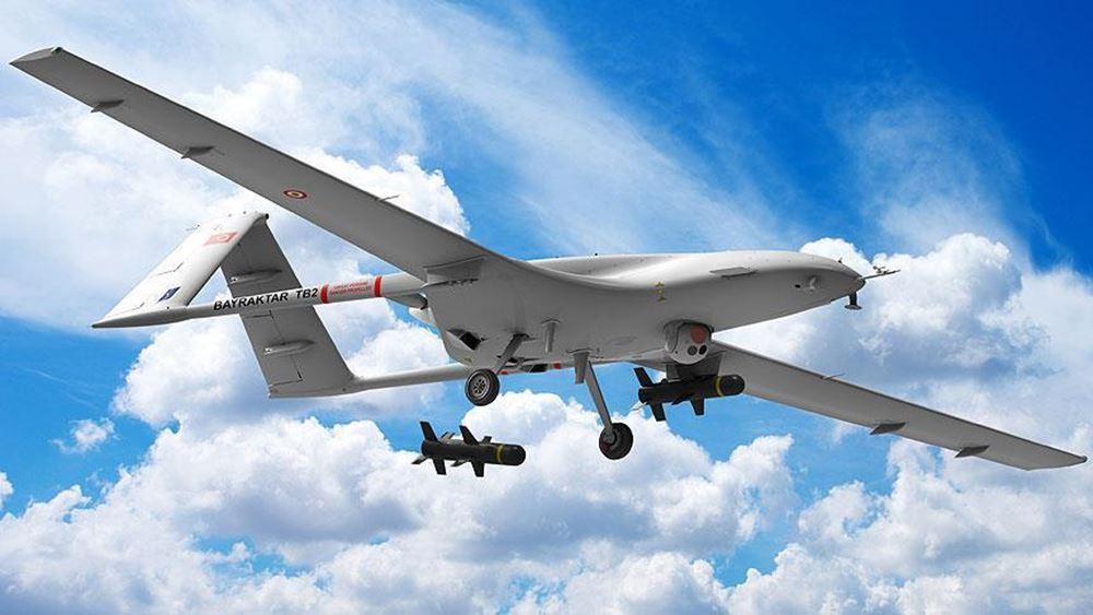 Κύπρος: Ένα οπλισμένο τουρκικό drone Bayraktar TB2 προσγειώθηκε σήμερα στο αεροδρόμιο Λευκονοίκου