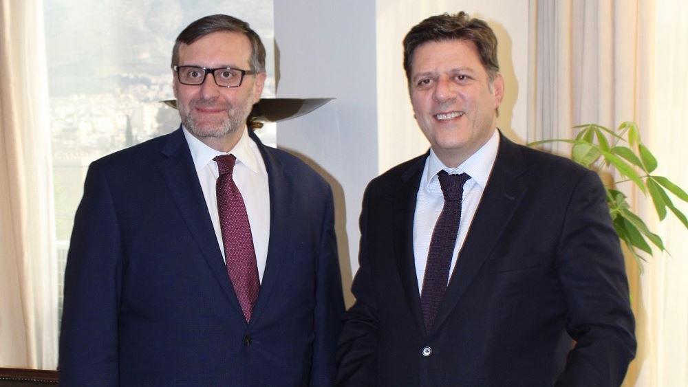 Συνάντηση Βαρβιτσιώτη με M. Palmer για την κατάσταση στην ελληνοτουρκική μεθόριο