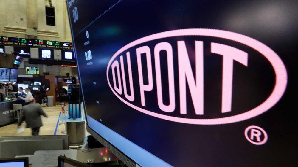 DuPont: Καλύτερα των εκτιμήσεων κέρδη και έσοδα