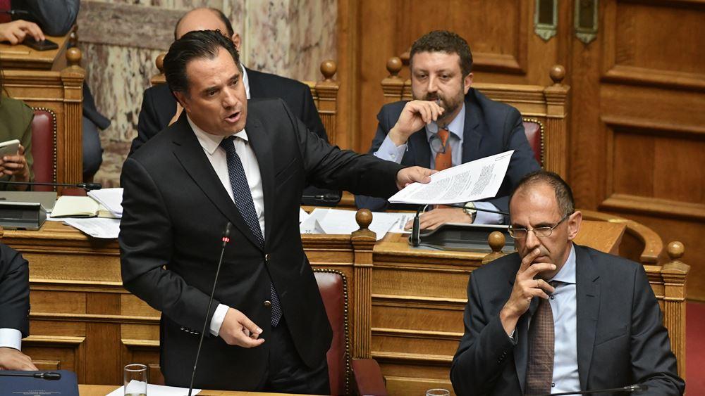 Άδωνις Γεωργιάδης: Μόλις γίνει ΦΕΚ η διάταξη η κ. Θάνου πάει σπίτι της