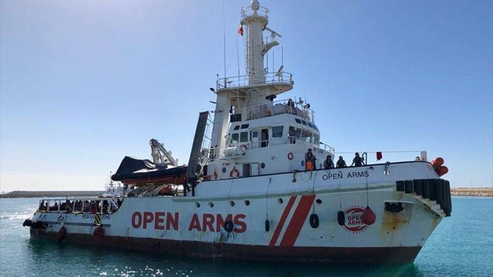 Ισπανία: Η κυβέρνηση προτείνει να δεχθεί το Open Arms στην Αλχεθίρας