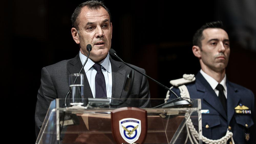 Ο Παναγιωτόπουλος απαντά στον Ακάρ: Ό,τι απειλείται, δεν αποστρατιωτικοποιείται