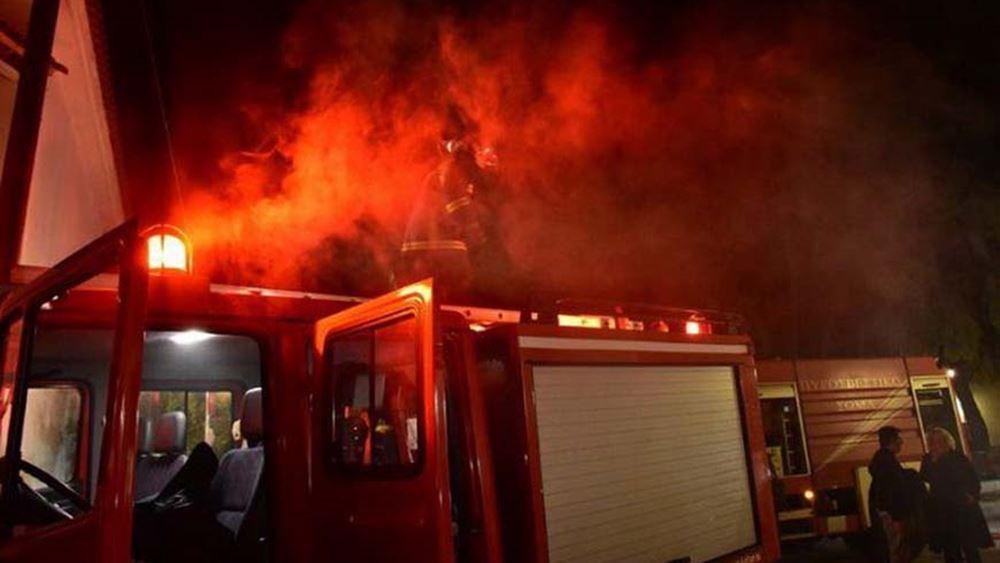 Θεσσαλονίκη: Μικρής έκτασης φωτιά στα κρατητήρια του Μεταγωγών