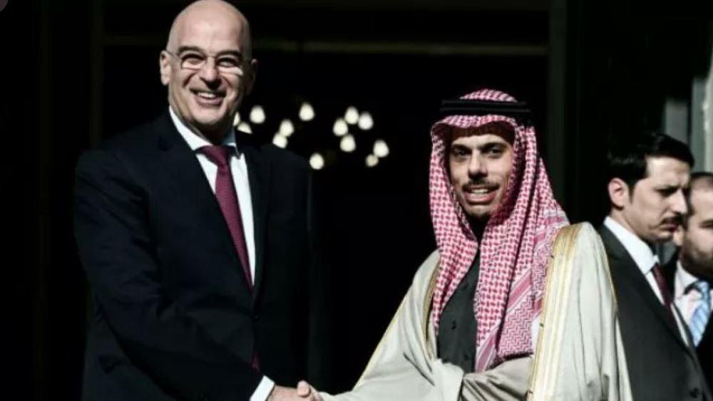 Τηλεφωνική επικοινωνία Δένδια με τον ΥΠΕΞ της Σαουδικής Αραβίας
