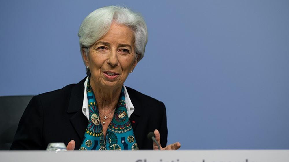 Λαγκάρντ: Εντυπωσιακά τα επιτεύγματα της Ελλάδας σε όρους ανάπτυξης και πλεονασμάτων