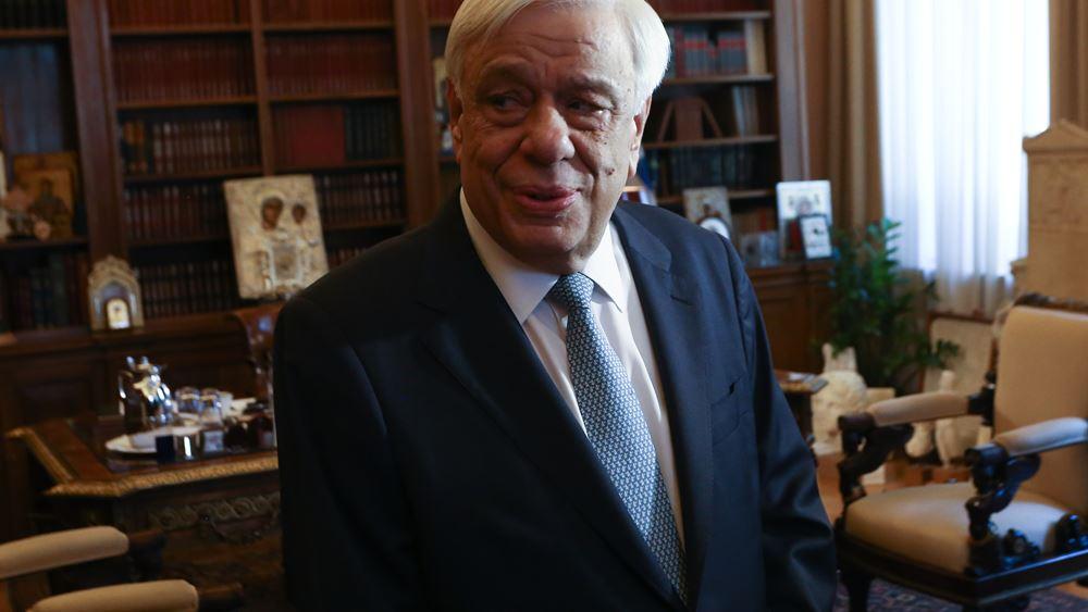 Π. Παυλόπουλος: Οι ελληνικές Ένοπλες Δυνάμεις, φύλακες της ειρήνης και των θαλάσσιων συνόρων της Ελλάδας, της ΕΕ και της διεθνούς νομιμότητας