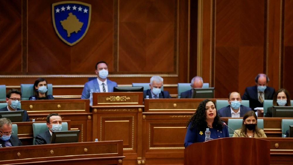 Κόσοβο: Η Βιόσα Οσμάνι εξελέγη Πρόεδρος της Δημοκρατίας
