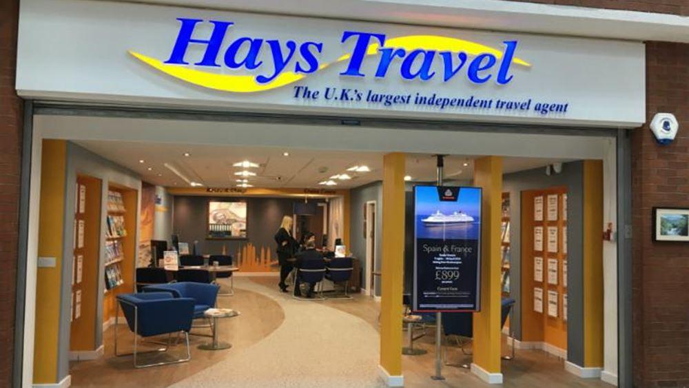 Η Hays Travel αγοράζει τα 555 φυσικά καταστήματα της Thomas Cook στη Βρετανία