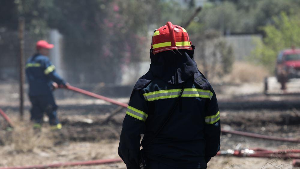 Συνεχίζουν να επιχειρούν οι πυροσβεστικές δυνάμεις στην Ανατολική Μάνη