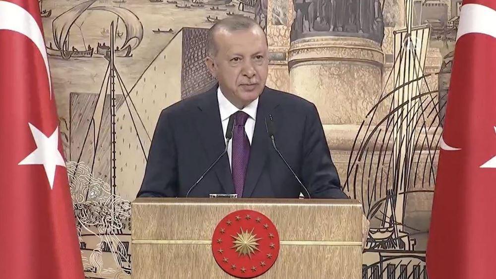 """Ερντογάν: Η Τουρκία παραμένει στο πλευρό των """"καταπιεσμένων"""" στον Καύκασο"""