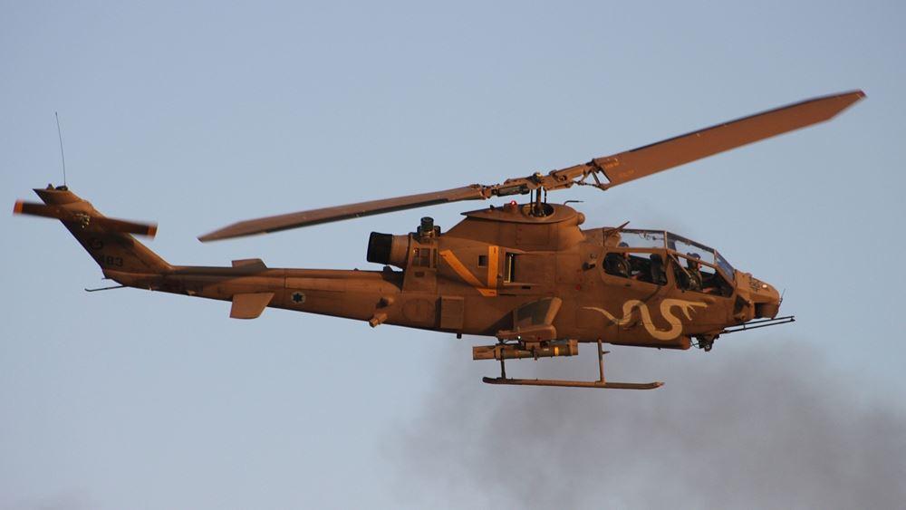Ισραήλ: Ελικόπτερα του στρατού βομβάρδισαν θέσεις των συριακών ένοπλων δυνάμεων
