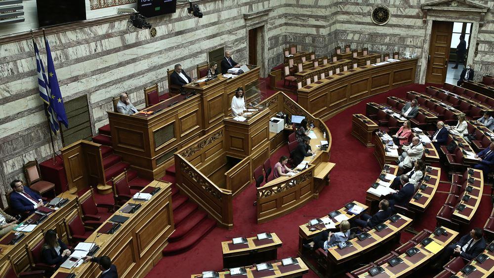 Προ ημερησίας διάταξης συζήτηση στη Βουλή, σε επίπεδο αρχηγών κομμάτων, για τις συνέπειες του κορονοϊού