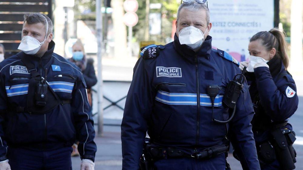 γαλλία-αστυνομία-κορονοϊός