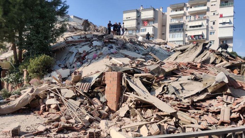 Ερείπια έγιναν 17 κτήρια από τον σεισμό στη Σμύρνη: Στους 21 οι νεκροί - Πάνω από 789 τραυματίες