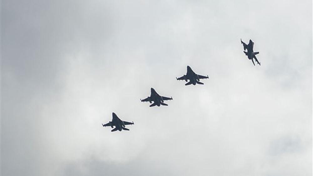 Πραγματοποιήθηκαν οι πρώτες πτήσεις ελληνικών μαχητικών στον εναέριο χώρο της Βόρειας Μακεδονίας