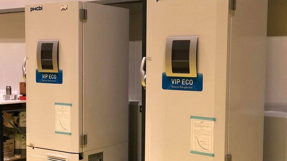 Ήλθαν στην Ελλάδα τα ψυγεία που θα αποθηκευθούν τα εμβόλια κατά του κορονοϊού