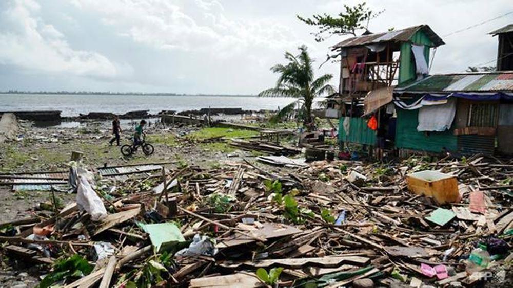 Φιλιππίνες: Στους 41 ανέρχονται οι νεκροί από τον τυφώνα Φανφόν
