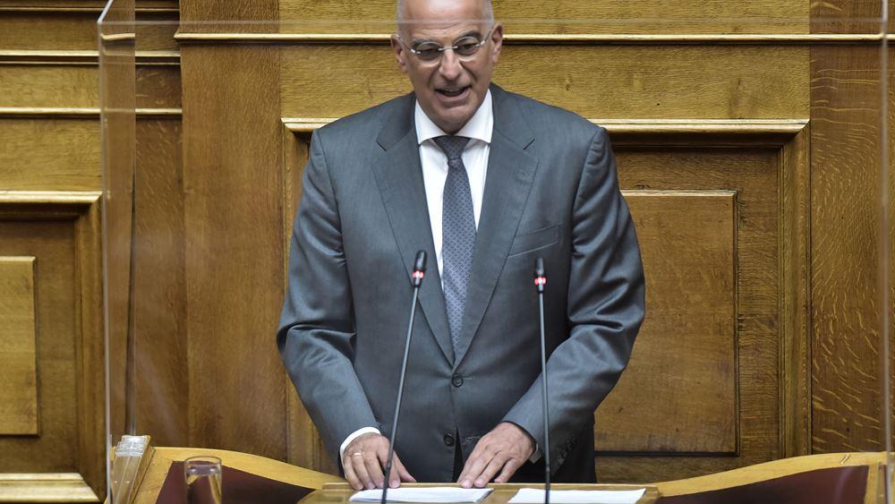 Δένδιας: Η Ελλάδα έχει διαχρονικό εθνικό στρατηγικό σχέδιο στην εξωτερική της πολιτική