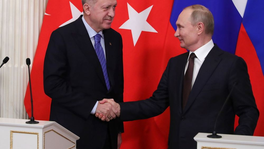 Ερντογάν και Πούτιν θα συζητήσουν για τη Συρία στο Σότσι