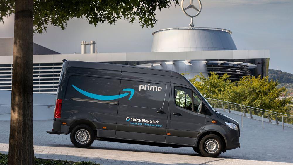 1.800 ηλεκτρικά βαν της Mercedes για την Amazon