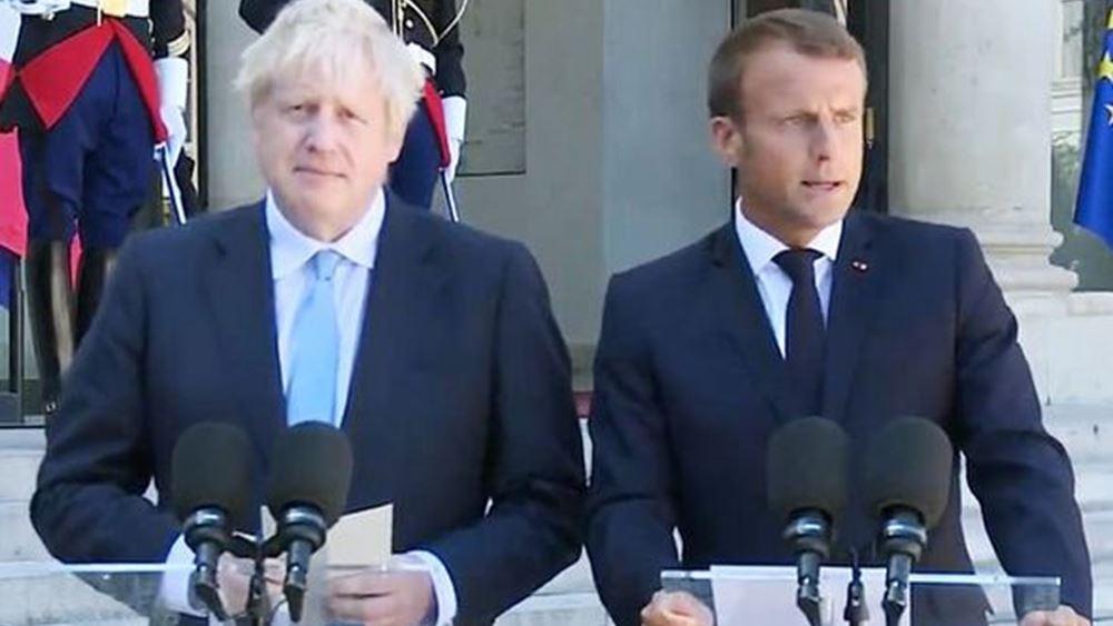 Μακρόν προς Τζόνσον: κράτα τον λόγο σου στη συμφωνία του Brexit