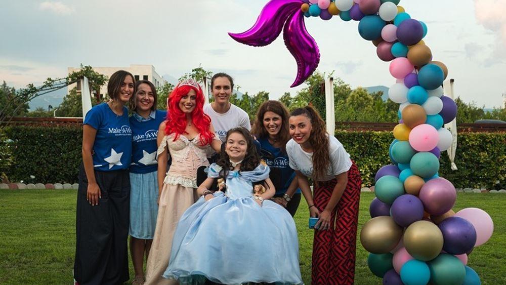 Ο ΟΠΑΠ πραγματοποίησε ακόμη τέσσερις ευχές παιδιών του Make-A-Wish
