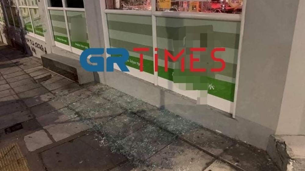 Θεσσαλονίκη: Κουκουλοφόροι βανδάλισαν σούπερ μάρκετ