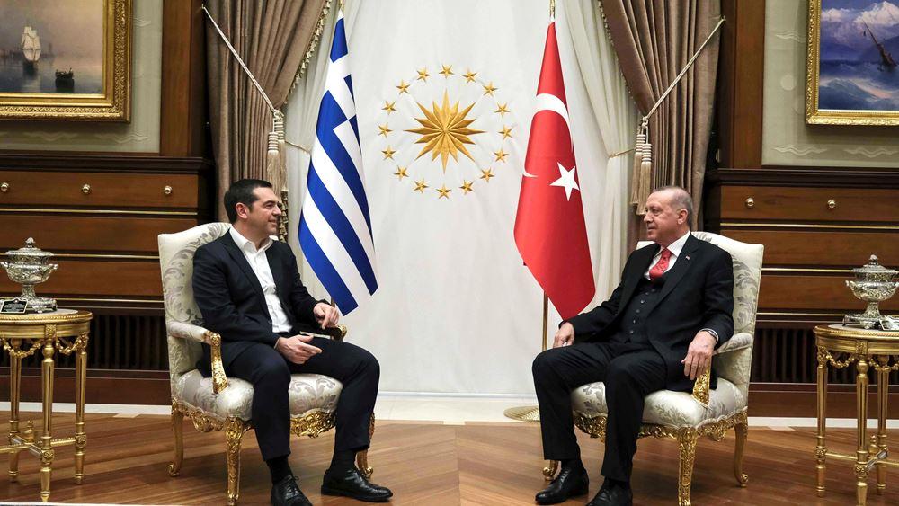 Ερντογάν: Θέλουμε να βελτιώσουμε τις σχέσεις μας σε κάθε επίπεδο